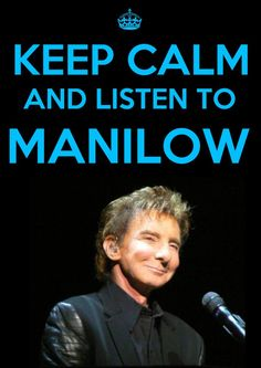 ; )  My recommendation tonight is the new album, Night Songs.  It's incredible...  Paradise Cafe, Night Songs, and Swing Street on my playlist makes for a mellow Manilow night.