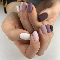 35 Chic Summer Matte Nails Art Designs You Must Try In 2020 – Page 5 – Nailmon Simple Acrylic Nails, Fall Acrylic Nails, Simple Nails, Fall Nails, Winter Nails, Summer Nails, Cute Nails, Pretty Nails, Nagellack Design