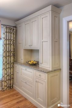 Could be a built-in china cabinet for dining room. Add some glass doors.