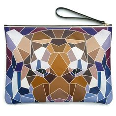 Passerin-nonpareil Busyjungle Big Cat Clutch - Women | Hunt Leather Big Cats, Abstract, Artwork, Leather, Women, Summary, Work Of Art, Auguste Rodin Artwork, Women's