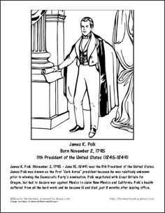 all 44 presidents coloring pages - photo#12