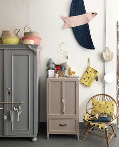 We all know how difficult it is to decorate a kids bedroom. A special place for any type of kid, this Shop The Look will get you all the kid's bedroom decor ide Kids Room, Girl Room, Kids Room Inspiration, Room Inspiration, Decor, Vintage Cupboard, Furniture, Kids Furniture, Home Decor
