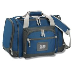 """""""this cooler bag is great. It is used for work on a daily basis and it fits everything needed for a 12 hour shift. I also use it for parties and weekend trips to bring beverages in. Comfortable to carry even when it's heavy."""" Megan, with 4imprint 5 years."""