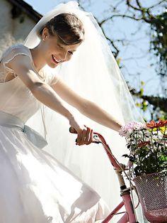 Noiva na bicicleta