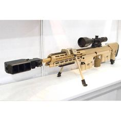 """""""DSR-Precision DSR-50 in 50BMG bolt-action bullpup rifle, because you need a…"""