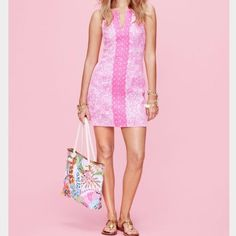 Lily Pulitzer See Ya Later Shift Dress Not sure if I want to sell this, so cute and perfect for summer! Never worn, still has tags attached. Lilly Pulitzer for Target Dresses