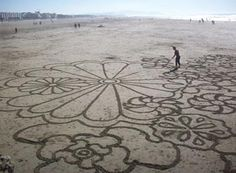Andres Amador   Sand Art (Temporary and Contemporary)