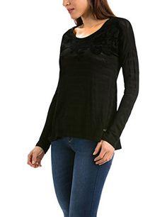 Desigual TS_CHAPIN-Camiseta Mujer    Negro (Negro) 36 #camiseta #starwars #marvel #gift