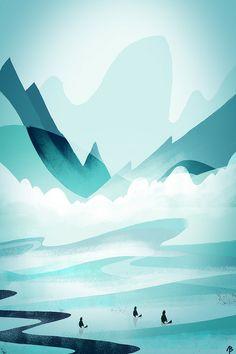 Frozen Beach - Alexandre Belbari; love this!