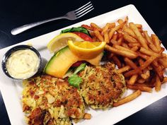CRAB / Maryland Crab Cake Dinner $15 @ Parkway Deli