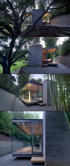 Tea House by Swatt, Miers Architects