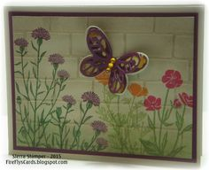 Wall Flowers by FireFly61 - Cards and Paper Crafts at Splitcoaststampers