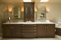 Classic Traditional Master Bath