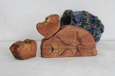 Sleeping Brown Bear. $22.00, via Etsy.