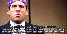 Worst thing about prison