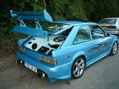 #SouthwestEngines Modified Ford Escort MK4 XR3i 1989