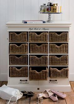 Rivièra Maison High Heels & Slippers Cabinet