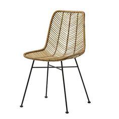 Vite ! Achetez votre Chaise design en rotin tressé - Lena de qualitée sur CDC Design. Payez en 3x ou 4x sans frais ! Livraison gratuite dès 750€ d'achat.