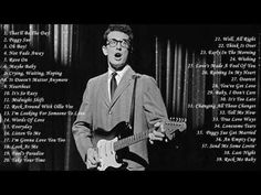 Buddy Holly's Greatest Hits Full Album - Best Songs Of Buddy Holly - YouTube
