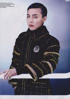 paismom — thekoreanbigbang:   G-Dragon - Vogue Korea (August...