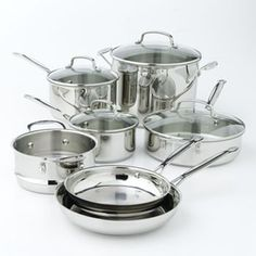Cuisinart Chef's Classic Stainless Steel 11-pc. Cookware Set - Many times you can find 30% off coupons online!
