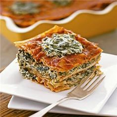 """The tofu """"ricotta"""" has a wonderful creamy texture and boasts all the familiarity of the traditional lasagna that most of us grew up with."""