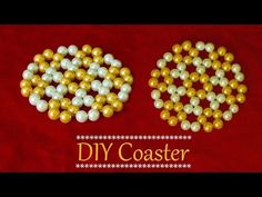 How to make coasters   DIY coasters ( so easy ) for tea table or coffee table - YouTube