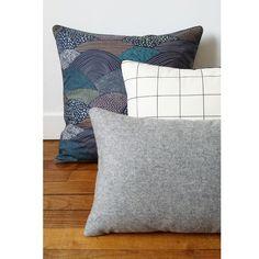 EKlerLa — Coussin Wool Granit