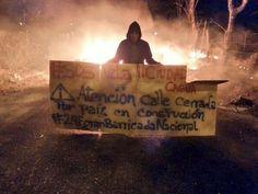 Fotos de Cagua en protesta activa desde la madrugada