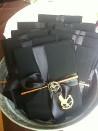 Hunger Games party favors ok decided im totally having a book party this year themed on my fav books!