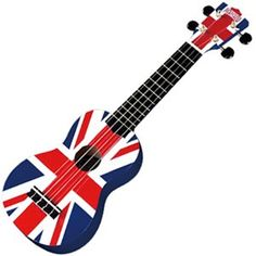 the Union Jack AND a ukulele? This, my friends, is the perfect instrument!