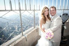 Empire State Building Wedding... So Cool!!!!××××
