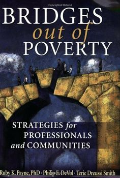 Bridges Out of Poverty: Strategies for Professionals and Communities by Ruby K. Payne. $15.28. http://notloseyourself.com/showme/dpadb/Ba0d0b1bDw7y9uPmLdEa.html. Author: Ruby K. Payne. Publisher: aha! Process, Inc.; 1st edition (June 9, 2006). 303 pages