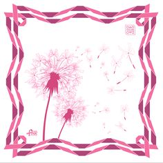 Chloe Dao Think Pink Scarf for 2013
