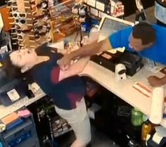 Man Punches Female Store Clerk In The Face Over 40 Cents