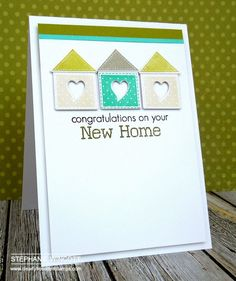 Stamping & Sharing: Home Sweet Home