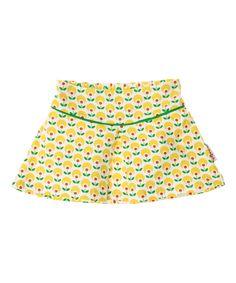 Baba Babywear geplooide rok met bloemenprint. baba-babywear.nl.emilea.be