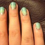 Gradient nail design