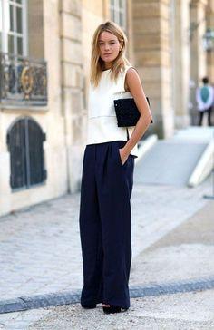 Street Style Paris Fashion Week Spring 2014    @sommerswim