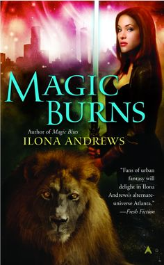 Magic Bites - Kate Daniels series. So good! I'm reading a book a day in this series! They're addictive!