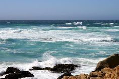 The beautiful Pacific Ocean, Monterey, CA.