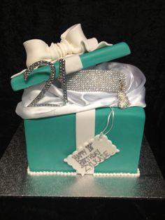 Stunning Tiffany & Co Cake