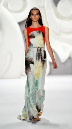 Tendenze moda per la prossima primavera 2013 dalla settimana della moda di New York