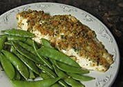 Herb Baked Red Snapper Recipe - This was some of the best fish we've had in a long time - just a touch of heat from the cajun seasoning. Made it with the baked asparagus (from my Soulful Sides) board and fresh fruit! Would definitely make again!!! - Diane