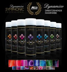 """DYNAMICO"" direct color - Symphonic Professional – Professional Color System by #Vargahair International"