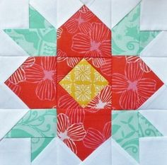 Quilting: Blossom Paper Pieced Pattern
