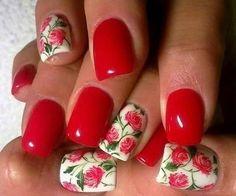 Best Matte Floral Nail Art Designs for Summer