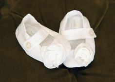 Mary Jane Rose Shoes to go with Baptism / Blessing / by llheron, $27.00