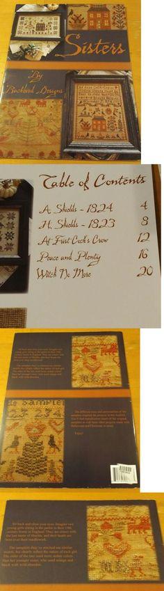Cross Stitch Patterns 34032: Sisters Blackbird Designs Cross Stitch Book -> BUY IT NOW ONLY: $35 on eBay!