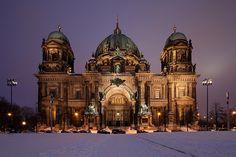 O domo de Berlim, Alemanha. Foto de david.bank (www.david-bank.com), via Flickr
